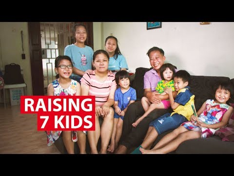 Raising 7 Kids in Singapore: Life in  a Big Family  | On The Red Dot | CNA Insider