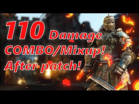 For Honor - Insane 110 Damage Mixup/Combo...