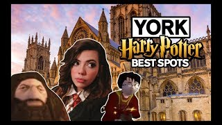 HARRY POTTER THINGS TO DO IN YORK ENGLAND || Shops, Film Locations & More!