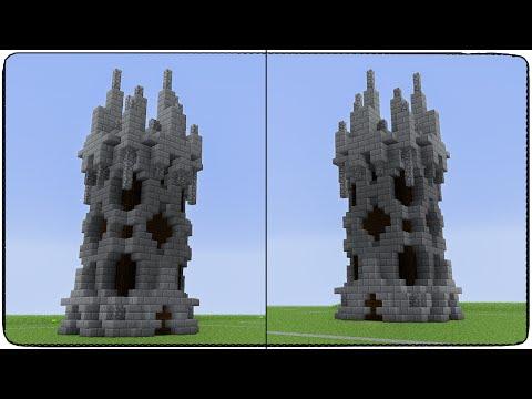 Башня в майнкрафт - Строим в майне