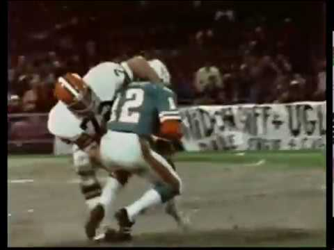 1973 Dolphins at Browns Game 5