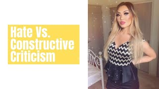 Natsune Oki What are the differences between hate and constructive criticism?