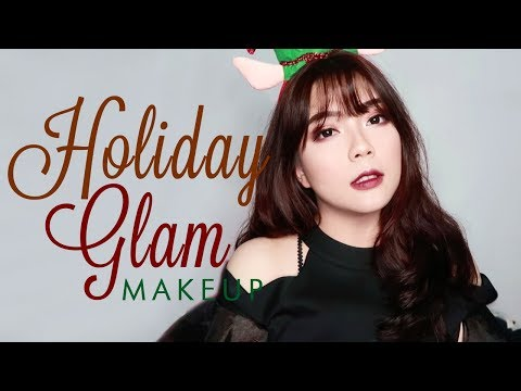 Holiday Glam Makeup Tutorial // Nyobain Foundation yang UP TO 24HRS?!