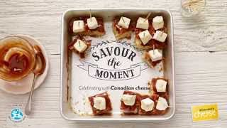 Cashew Caramel Brie Blondies | All You Need Is Cheese