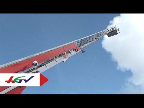 HGTV | Cận cảnh xe chữa cháy cho nhà cao tầng