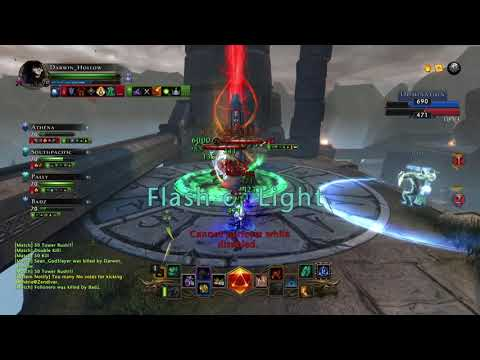 Neverwinter PvP / Hard game in solo dom / Scourge Warlock Soulbinder (mod 14)