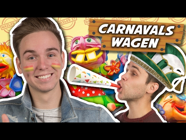 CARNAVALSWAGEN MAKEN! - Nailed it #4