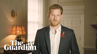 End stigma around HIV testing, says Prince Harry