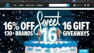 как покупать на Bodybuilding.com  16-летие магазина