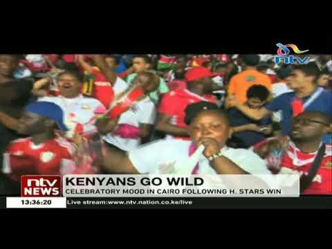 AFCON 2019: Kenya Vs Tanzania fans' celebrations highlights