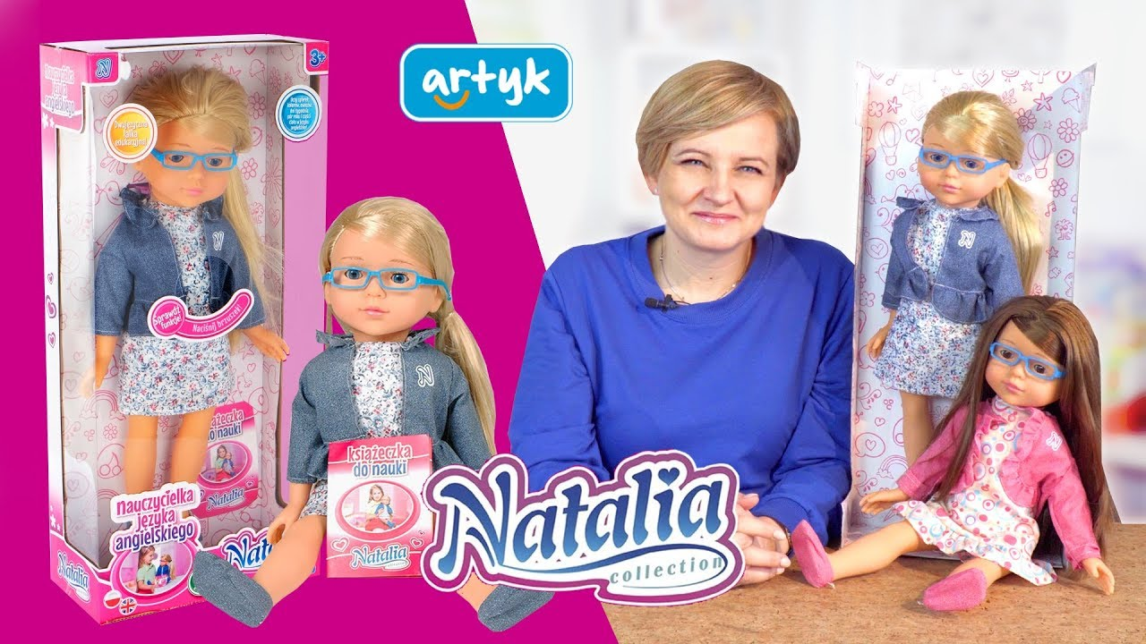 Lalka Natalia nauczycielka języka angielskiego, Artyk