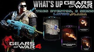 "Gears of War 4 l What´s Up l 3 Skins Latido,  3 Eventos l TDM en "" Compras "" l 1080p Hd"