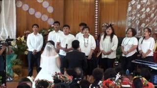 20161022美園基督長老教會敬拜讚美團偉逸夢涵結婚典禮祝歌