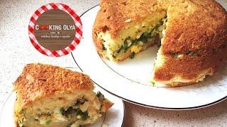 Пышный заливной пирог с яйцом и луком | Быстрые и простые рецепты от CookingOlya