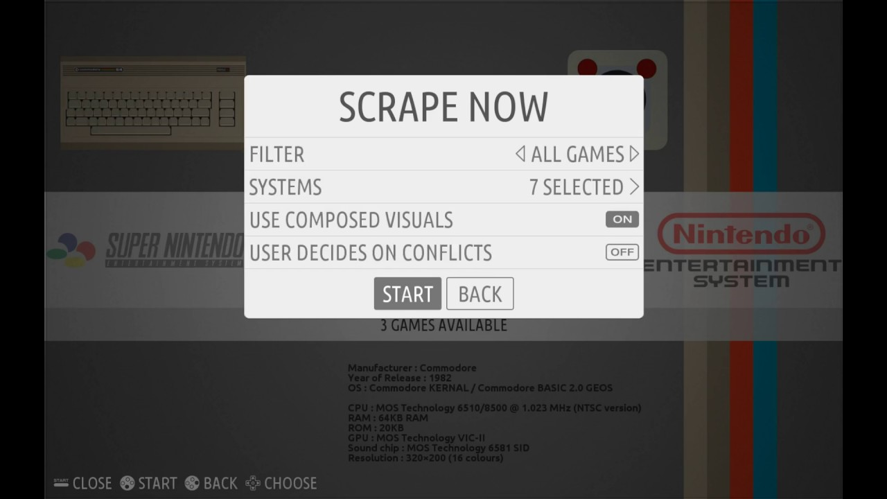 scraper recalbox