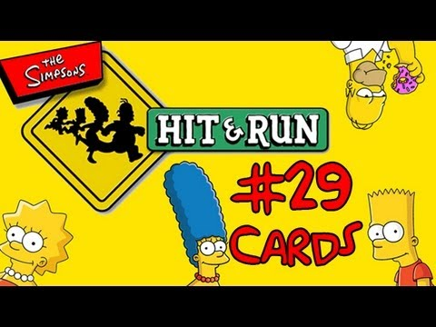 Let's Play The Simpsons Hit And Run: #29 - Collecting Cards Part 3!