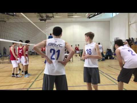 Playoffs u15 Boys Volleyball vs TVP 16 1 Set 2 May 7 2017