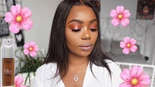 FLAWLESS SPRING MAKEUP | drugstore | L'ORÉAL FOUNDATION |Liesj Deluxe