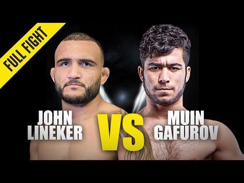 John Lineker Vs. Muin Gafurov | ONE Full Fight | October 2019