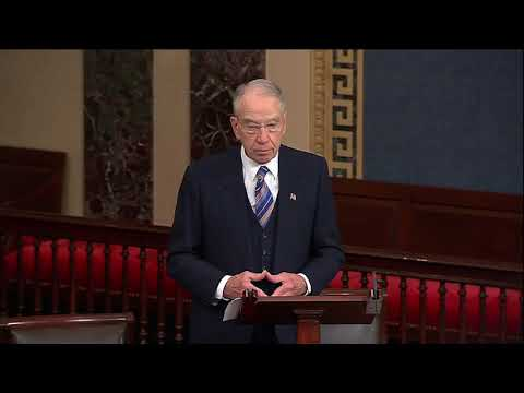 Grassley on 10th Circuit Nominee: mainstream, commonsense Westerner