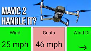 Suddenly the Wind started Gusting while i was flying Mavic 2 Zoom &...