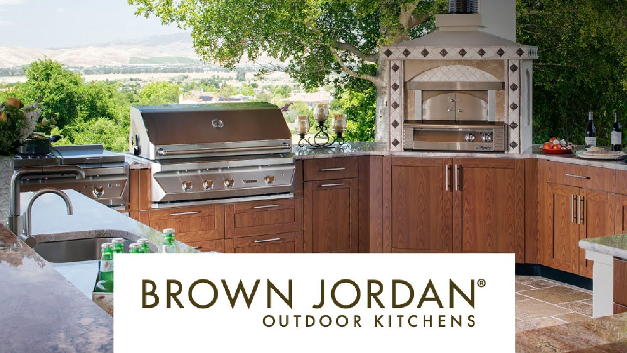 brown jordan outdoor kitchens nice brown jordan outdoor kitchens merge style with durability youtube