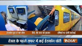Passengers vandalise Tejas Express on its first Mumbai-Goa trip