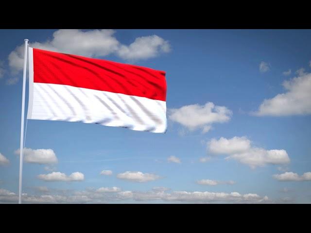 Studio3201 - Animated flag of Indonesia