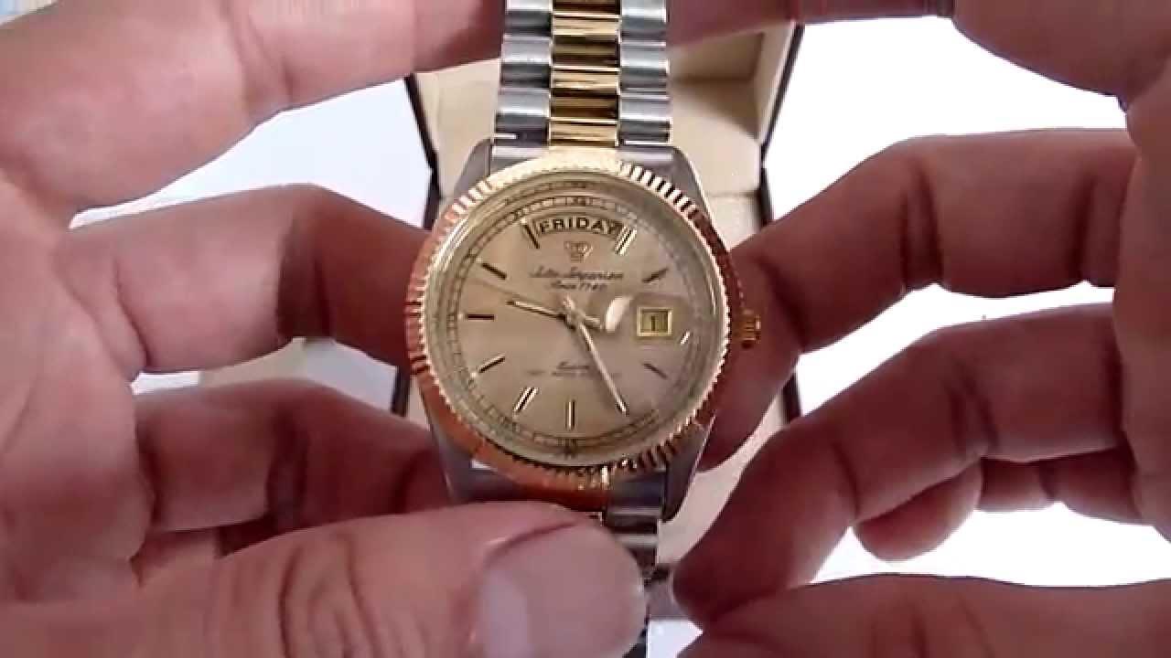(A LA VENTA) Reloj Jules Jurgensen Para Caballero De Quarzo 0780e57227fb