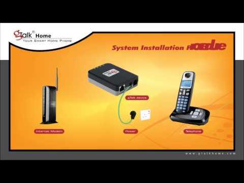 gTalk Home Device Installation Procedure