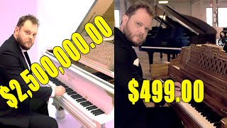 Cheap vs Expensive Pianos. Can You Hear the Difference?