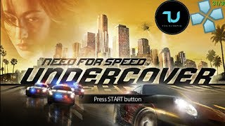 Need for Speed: Undercover PPSSPP Android/Full Speed/Max settings 5X resolution 30FPS