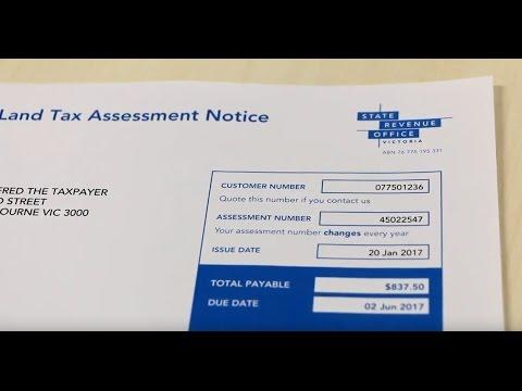 Understanding your land tax assessment