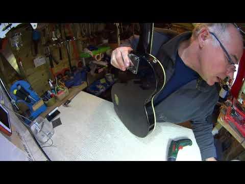 Vintage Kay K-30 MIK 1980 refurbishment - Reloved Guitars 'AristoCat'