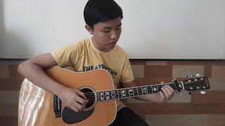 (Don Nguyễn) Vẽ một nụ cười (with TAB) Fingerstyle Guitar by Tran Quoc Huy