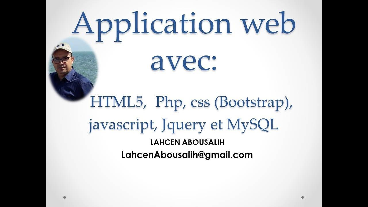 application avec php