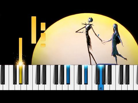 This is Halloween - The Nightmare Before Christmas -  Piano Tutorial / Piano Cover