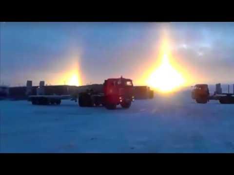NIBIRU 🔴 PLANET X 🌎 MASSIVE SUN Anomaly over Russia