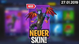 FORTNITE SHOP from 27.1 - 🧛 NEW SKIN! 🛒 Fortnite Daily Item Shop of Today (27 January 2019) | Detu