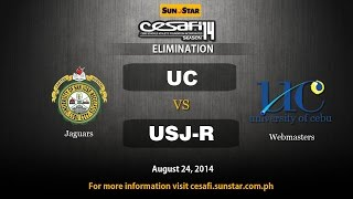 USJR VS. UC - College - August 24, 2014