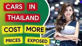 Car Costs in Thailand Motor Show 2018