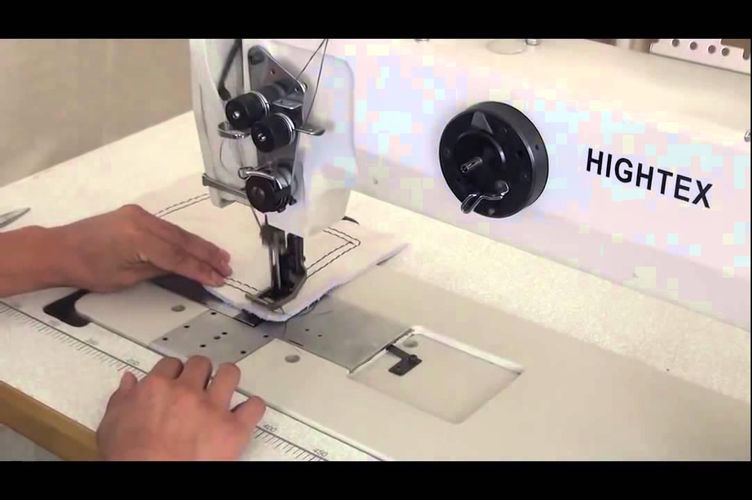 Máquina de 2 agujas de punto pespunte de brazo largo para