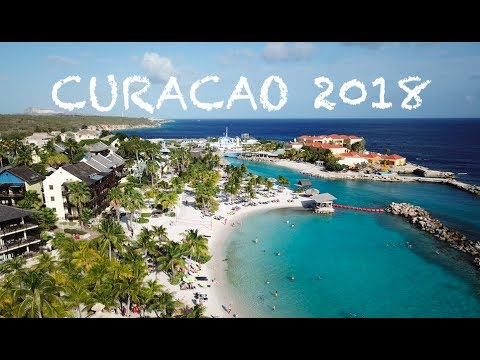Best of Caribbean CURACAO 4K by Drone