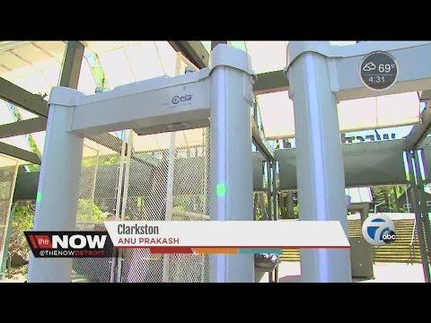 DTE Energy Music Theatre installs metal detectors