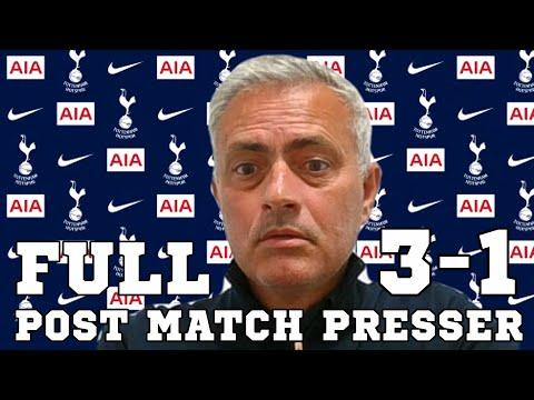 Sheffield United 3-1 Tottenham - Jose Mourinho FULL Post Match Press Conference - Premier League