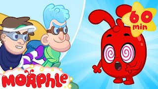 Morphle is Hypnotized - The Hypno Bandits | Cartoons for Kids | Morphle TV