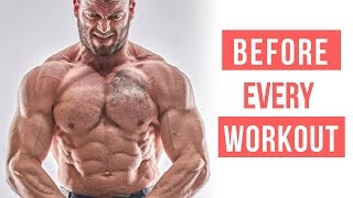 Do This BEFORE Every Bodybuilding & Powerlifting Workout!! (Ben Pollack) | MIND PUMP