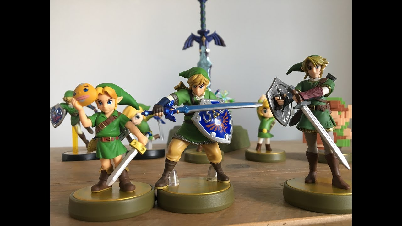 Unboxing Majoras Mask, Skyward Sword & Twilight Princess Link Amiibo - YouTube