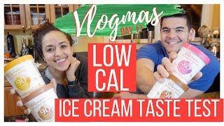 LOW CALORIE ICE CREAM TASTE TEST, REVELE GELATO || VLOGMAS 20