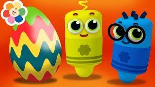 Huevo Sorpresa de Colores   Aprende los Colores - Familia Dedo Canciones Infantiles   BabyFirst